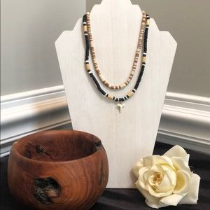 Shark Tooth Necklace Set